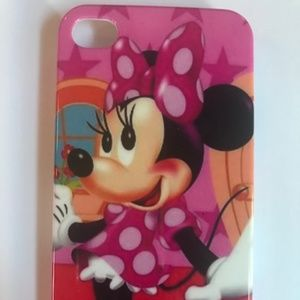 Iphone 5/5s Pink Minnie Mouse Case
